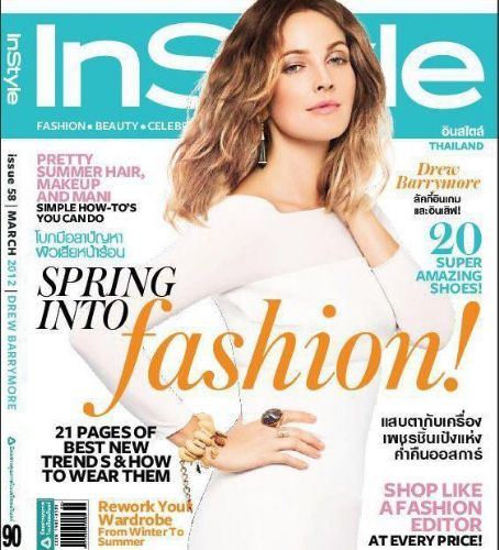 Jennifer Garner - InStyle Magazine Cover [Thailand] (March 2012)