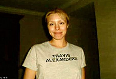 Travis Alexander Jodi Arias Wearing the Infamous Property of
