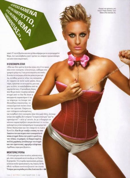 Eleonora Meleti  Nitro Magazine Pictorial October 2009