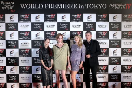 "Wentworth Miller - ""Resident Evil: Afterlife"" Japan Premiere"