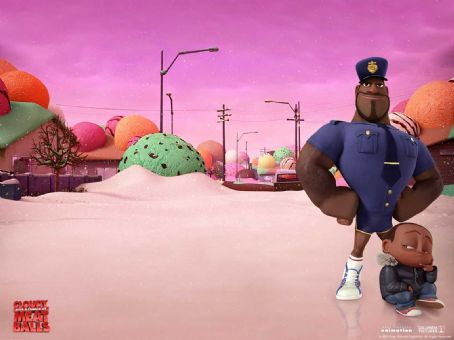 Mr. T Cloudy with a Chance of Meatballs Wallpaper