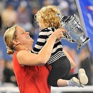 Kim Clijsters - Kim with family
