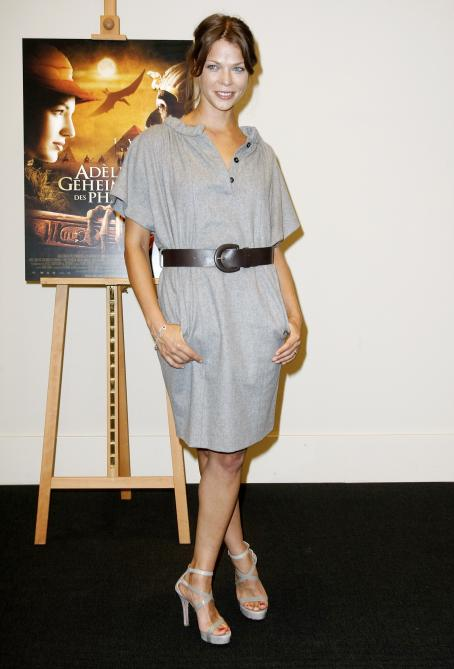 Jessica Schwarz - Photocall Of 'The Extraordinary Adventures Of Adele Blanc-Sec' (Adele Und Das Geheimnis Des Pharaos) At Hotel De Rome On August 5, 2010 In Berlin, German
