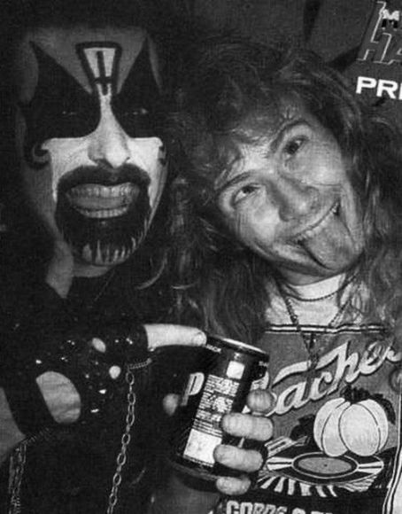 King Diamond Dave Mustaine &