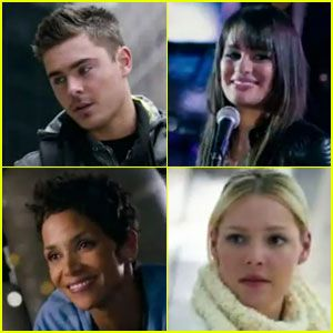 Zac Efron & Lea Michele: 'New Year's Eve' Teaser Trailer!