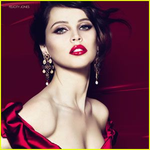 Felicity Jones: Dolce&Gabbana Makeup Ad!