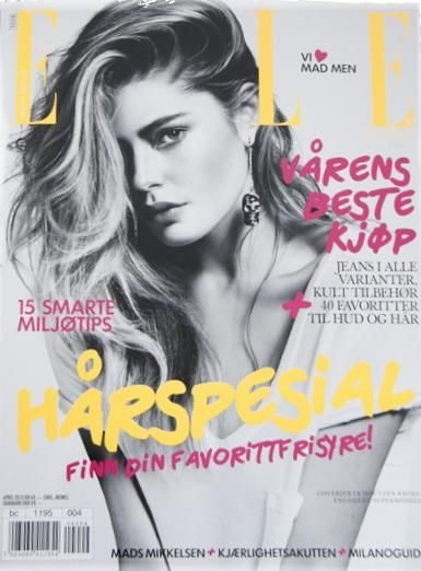 Doutzen Kroes - Elle Magazine [Norway] (April 2010)