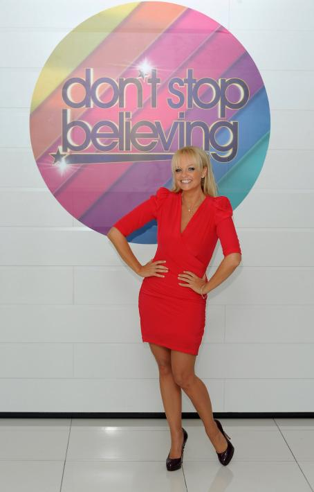 Emma Bunton - Photocall To Launch New TV Talent Contest - Don't Stop Believing On July 13, 2010 In London, England