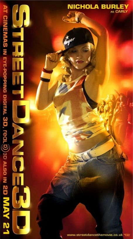 Nichola Burley Streetdance 3D Poster Card