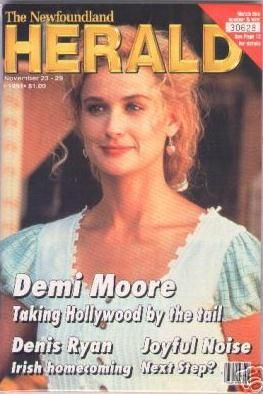 Demi Moore - Herald Magazine Cover [Canada] (23 November 1991)