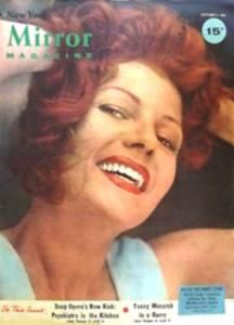 Rita Hayworth - Mirror Magazine [United States] (6 January 1957)