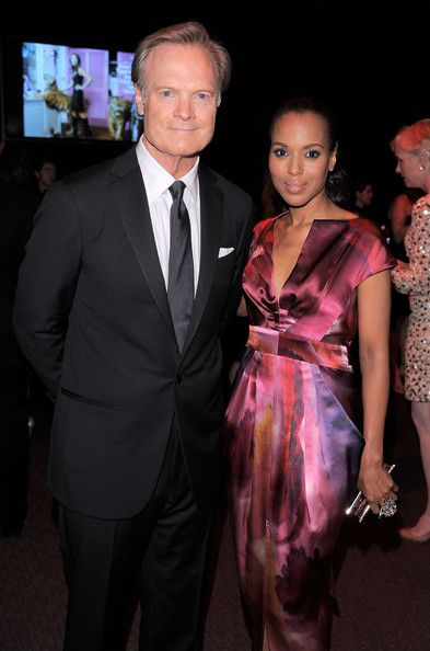 Lawrence O'Donnell and Kerry Washington