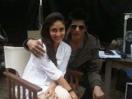 Ra.One SRK And Bebo Shooting For Ra. One
