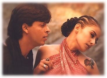 Manisha Koirala and Shahrukh Khan - SRK N Manisha