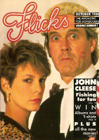 John Cleese - Flicks Magazine [United Kingdom] (October 1988)