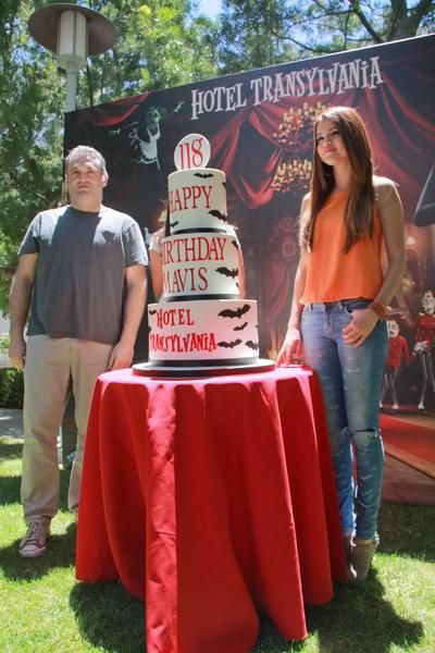 More Photos Of Selena Gomez At press Event For her New Animated Flick, Hotel Transylvania (June 25)