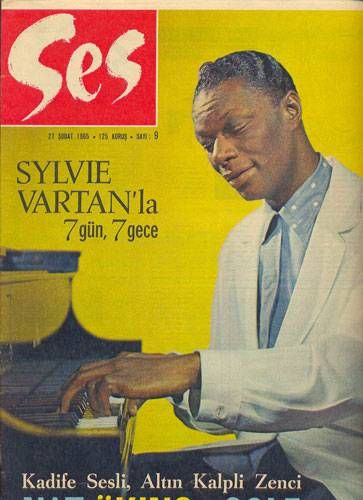 Nat 'King' Cole - Ses Magazine Cover [Turkey] (27 February 1965)