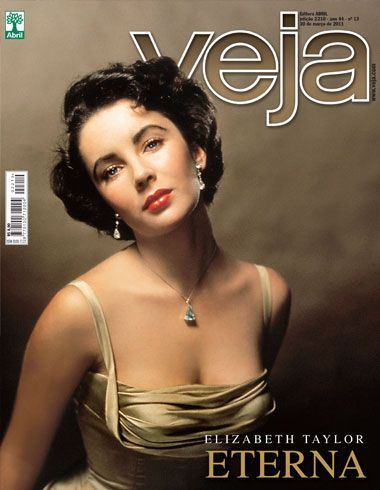Elizabeth Taylor - Veja Magazine Cover [Brazil] (30 March 2011)