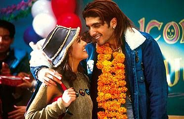Zayed Khan Zayed n Amrita