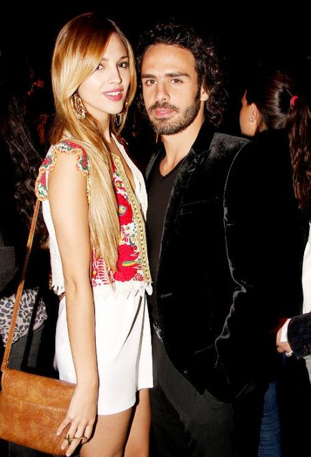 Eiza González and Pepe Diaz Eiza Gonzalez and Pepe Diaz - 2012 Mercedes Benz Fashion Week