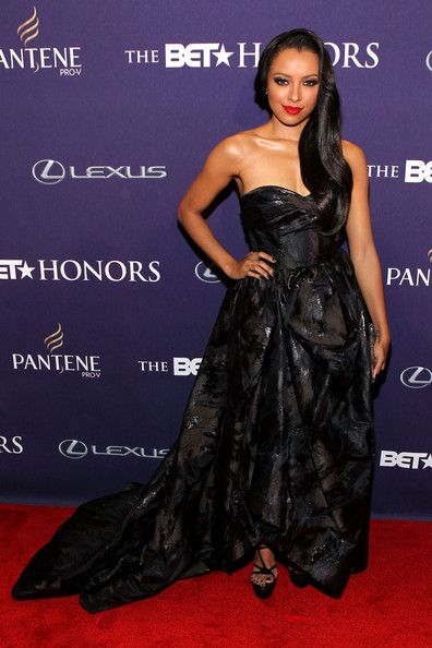 Kat Graham: attends BET Honors 2013: Red Carpet Presented By Pantene at Warner Theatre