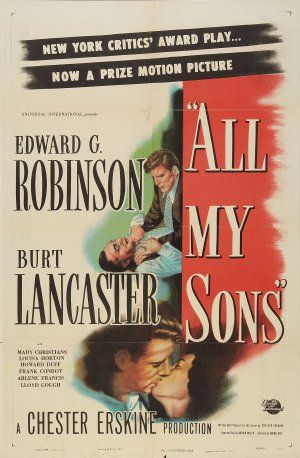 All My Sons (1948) Poster