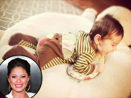 Vanessa Lachey Shows Off Her Little Turkey