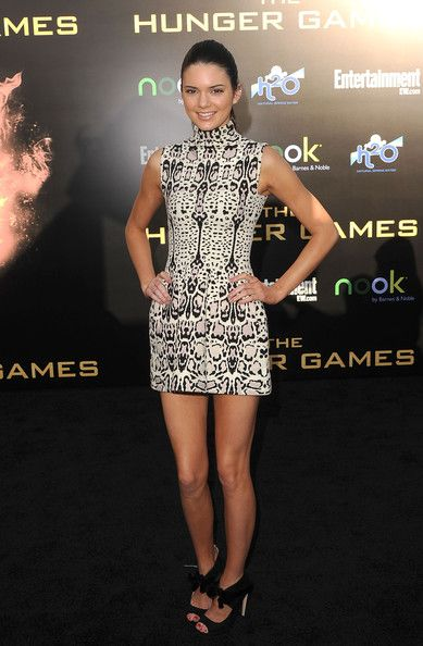 Kendall Jenner attends The Hunger Games Los Angeles Premiere on March 12, 2012 in Los Angeles
