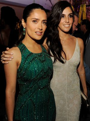Salma Hayek & Sandra Echeverria at Savages Debut