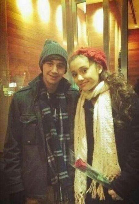 Jai Brooks Ariana Grande and her boyfriend, , rang in the New Year last night, December 31, in New York City