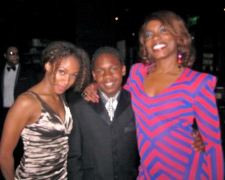 Aunjanue Ellis NAACP Post Show Gala w/ Jaishon Fisher