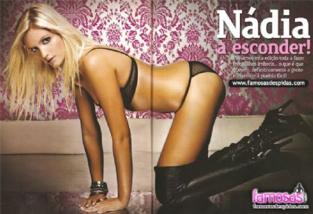 Nadia Lopes  - Maxmen Magazine Pictorial [Portugal] (November 2009)