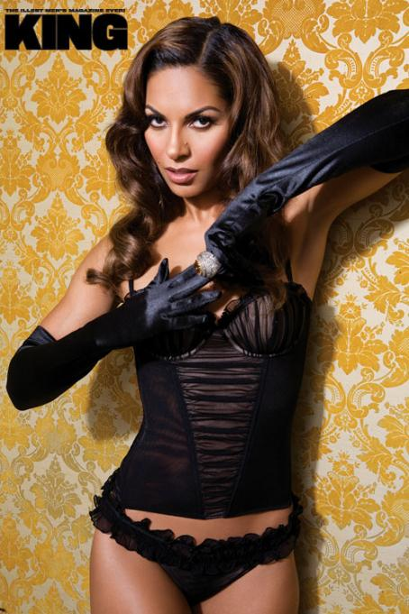 Salli Richardson-Whitfield - Salli Richardson - King Magazine Photoshoot