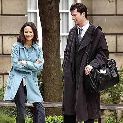 Noah Wyle - Noah & Thandie in ER