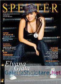 Elvana Gjata - Specter Magazine Cover [Albania] (7 April 2009)