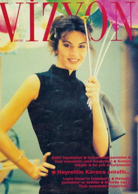 Vizyon Magazine Cover [Turkey] (February 1996)