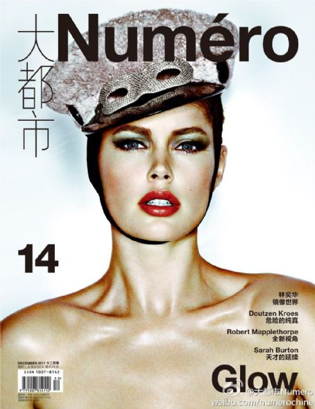 Doutzen Kroes - Numero Magazine Cover [China] (December 2011)