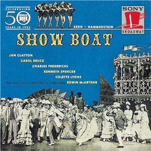 Jan Clayton 1946 broadway revivel of ''show boat'' 1992 sony broadway reissue on compact disc