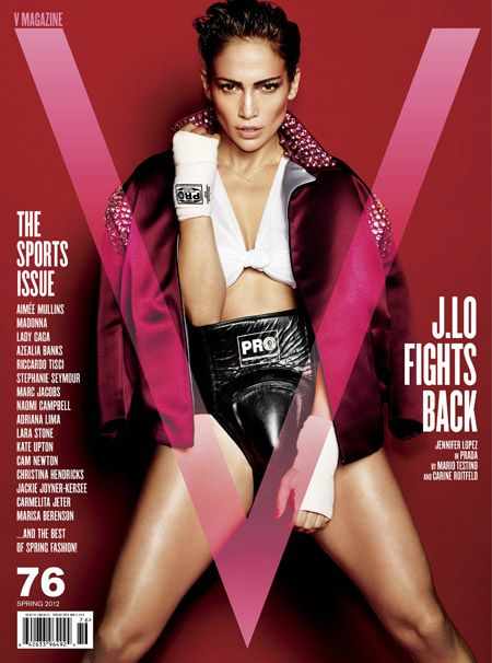 Jennifer Lopez - V Magazine Cover [United States] (April 2012)