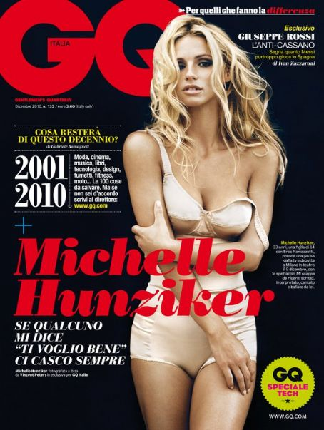 Michelle Hunziker - GQ Magazine [Italy] (December 2010)