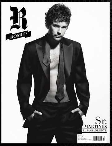 Mariano Martínez - Romeo Magazine Cover [Argentina] (March 2009)