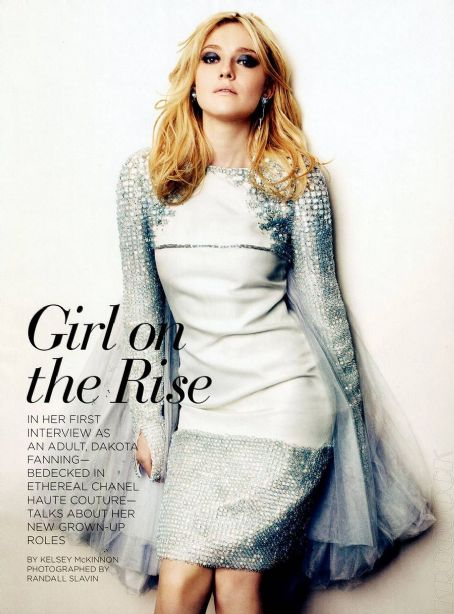 Randall Slavin Dakota Fanning California Style Magazine May 2012
