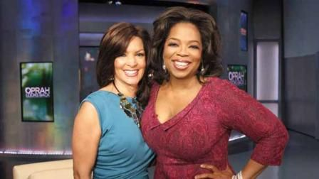 Cheryl Burton  With Oprah