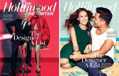 Behind the Creative Lens: Sarah Jessica Parker and Kate Hudson's THR Designer Issue Cover Shoots