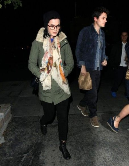 Katy Perry and John Mayer Perry and John Mayer grab dinner together at Matsuhisa in West Hollywood, California on December 27th, 2012