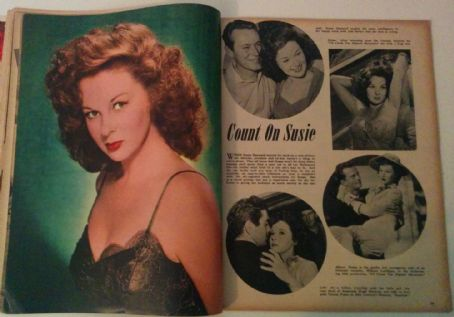 Susan Hayward - Silver Screen Magazine Pictorial [United States] (February 1951)