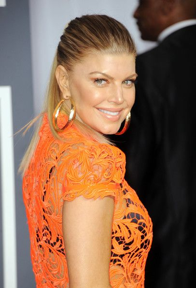 Fergie at the 54th Annual GRAMMY Awards held at Staples Center on February 12, 2012 in Los Angeles