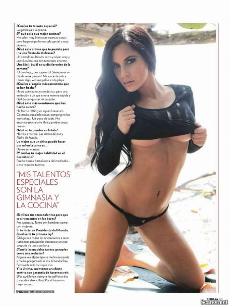 Amanda Rae Michaels  For Fhm Magazine Spain