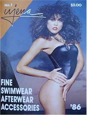 April Wayne  - Swimwear Illustrated Magazine Pictorial [United States] (February 1986)