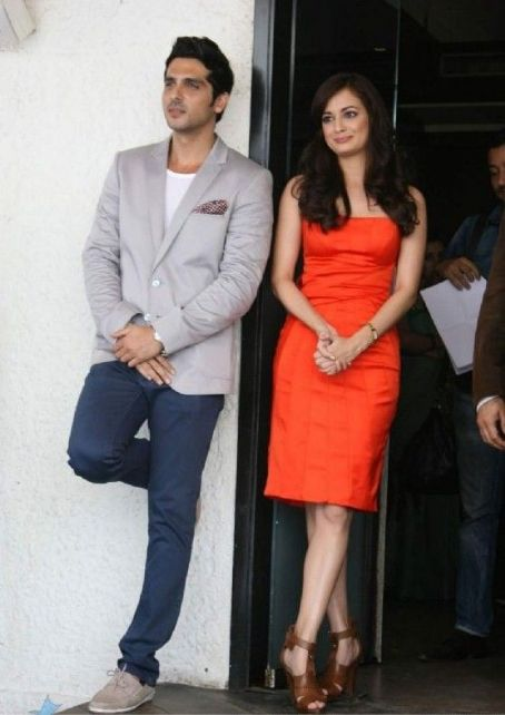 Diya Mirza - Zayed Khan and dia Mirza Promoting Love Breakups Zindagi